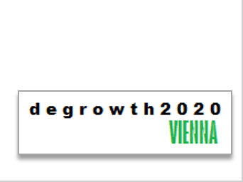 Degrowth Conference Vienna 2020